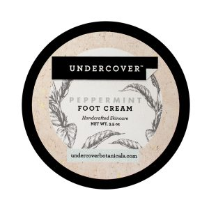 Undercover Botanicals peppermint foot cream