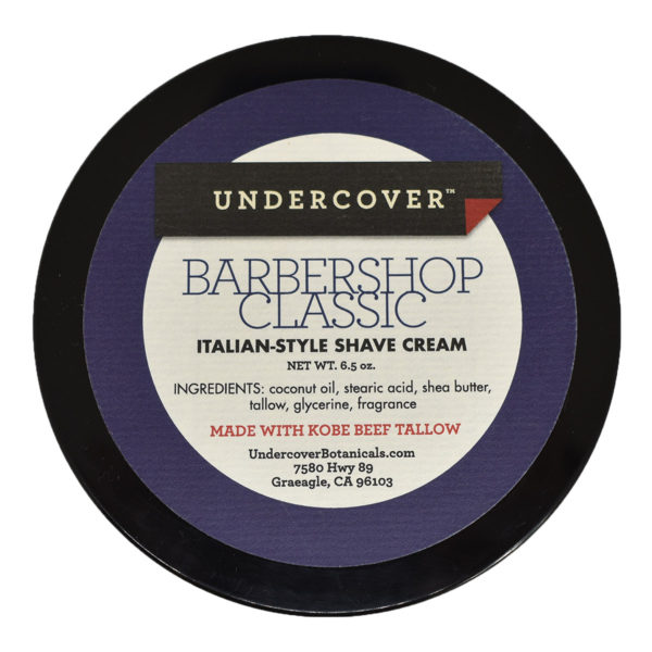UndercoverBotanicals Barbershop Classic Shave Paste